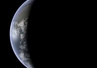 Die Erde als Sichel